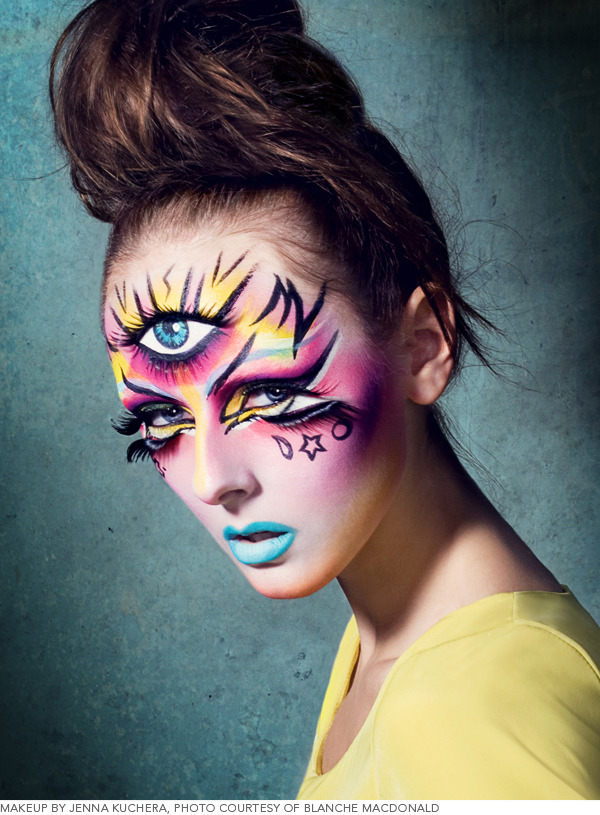 10 Stage-Worthy Character Makeup Designs Beautylish - Character Makeup Ideas