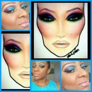 Colorburst/Facechart MUA Inspired/Recreation :)