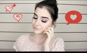 Soft Valentine's Day Makeup Tutorial | Tartelette Palette