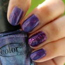 Color Club Wild At Heart & Zoya Thea