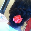 swirl french braid
