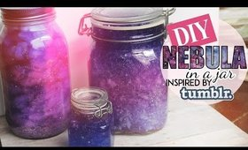 DIY Nebula in a Jar 💕 Tumblr Inspired 💕 TWO METHODS