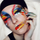 Lady Gaga - Applause video make-up inspired look ARTPOP
