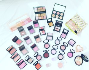 my blush collection!