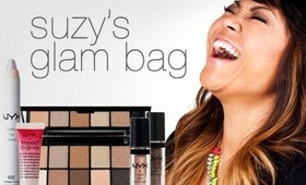 My NYX makeup glam bag & a neutral eyes tutorial!