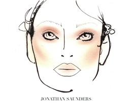 London Fashion Week, Fall 2011: MAC at Jonathan Saunders
