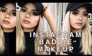 "Instagram Baddie Makeup (First time ""baking"")"