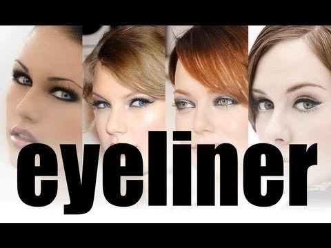 HOW TO: FIND THE PERFECT EYELINER SHAPE FOR YOUR EYE SHAPE!