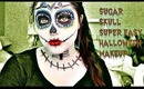 Sugar Skull || Super Easy Halloween Makeup