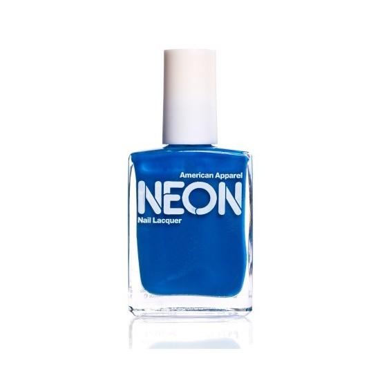 American Apparel Neon Nail Polish Neon Blue