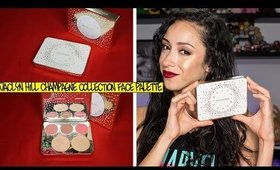 Jaclyn Hill X Becca Champagne Collection Face Palette First Impressions/ Swatches ||ft. Prosecco Pop