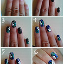 Floral nail art tutorial :)