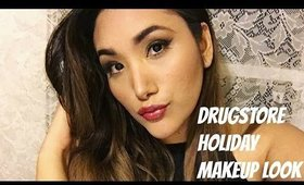 GRWM - Drugstore Holiday Makeup