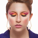 My 80's inspired makeup look