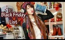 ♥Black Friday Shopping Guide {Discounts & Favorites}