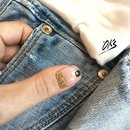 Nail and denim