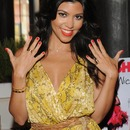 Kourtney Kardashian wearing Kourt is Red-y for a Pedi!