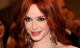 Met Costume Institute Gala Beauty: Christina Hendricks