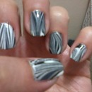 Water Marble White/Black