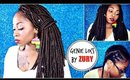 Natural Looking  Zury GENIE LOCS tutorial  (Faux Loc Crochet Braids)  UNDER 2 Hours!!!