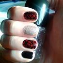 Laced nailwear