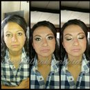 ?I did my cousins wedding makeup