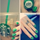 Mojitio Mandess a.k.a. Starbucks Green