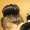 Easy 5 Minute Sock Bun!