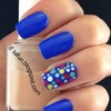 Cobalt and dots