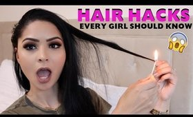 LIFE HACKS YOU NEED TO KNOW: HAIR EDITION