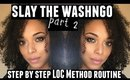 PERFECT WashnGo Routine 2016 | LOC Method for High Porosity Natural Hair | NaturallyCurlyQ