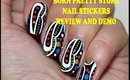 Born Pretty Store Nail Stickers Review and Demo