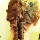 Fishtail Braid With An Inside-Out Twist