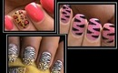 3 Animal Print Nail Designs - Nail Art Designs How To Nails Polish Design Art Cute Beginners Nails