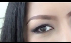 Eyebrow tutorial-NYX auto eyebrow pencil