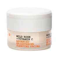 Wild Rose + Vitamin C Advanced Brightening Sleeping Faci