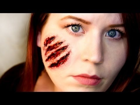 FX Makeup Series Claw Wounds | Goldiestarling Video | Beautylish