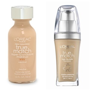 L'oreal True Match Liquid Foundation Review