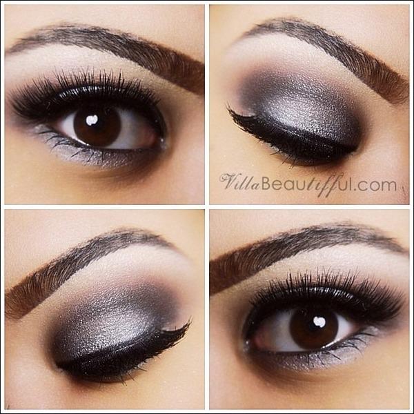Silver Smokey Eye Tiffany Vs Villabeautifful Photo Beautylish