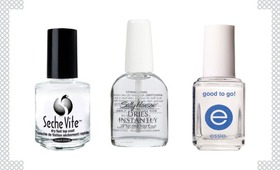 Top 3 Fast-Drying Topcoats