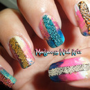 Summer Caviar Party Nail Art