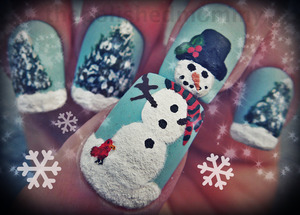 12 Days of Christmas: Snowman... http://www.thepolishedmommy.com/2012/12/let-it-snow.html
