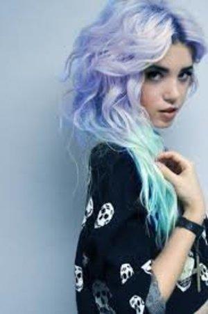 mint green amp pastel purple ombre hair beautylish