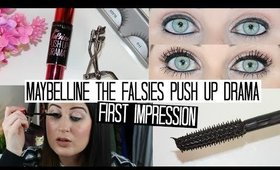Maybelline The Falsies Push Up Drama | FIRST IMPRESSIONS WEEK!