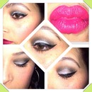 1at edition 120 color Bh cosmetics  palette & stila winged eyeliner with strumpet occ lip tar