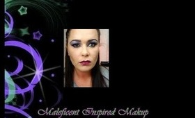 Maleficent Inspired Makeup Look