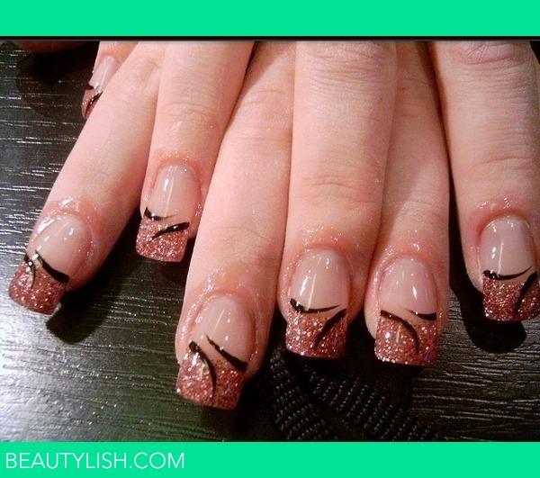 Фото самого простого дизайна ногтей