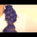 How to 6 six strand braid formal updo