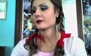 Dorothy Halloween Tutorial (hair, makeup, and costume)