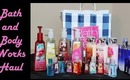 Bath and Body Works Haul, November 2013